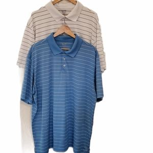 2 Men's C9 by Champion Duo Dry Polos Size XXL